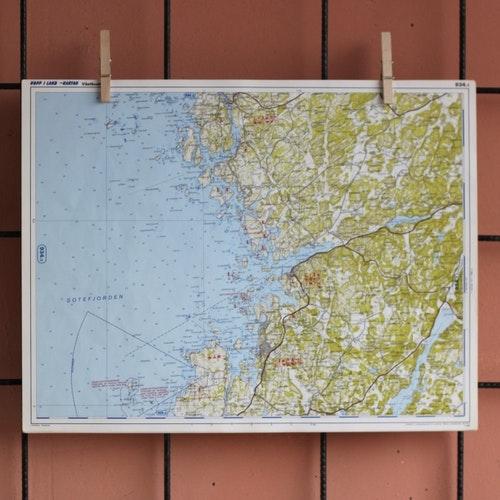 Karta - Sotefjorden, Hunnebostrand, Sotenäs