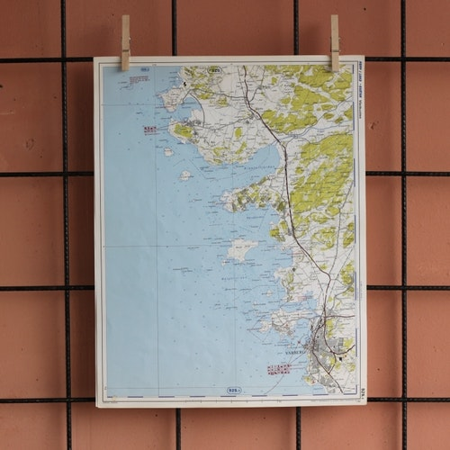 Karta - Varberg, Värö