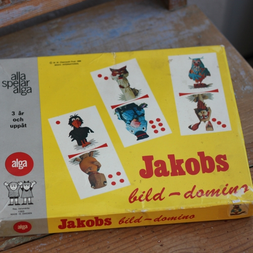 Domino - Jacobs Bilddomino