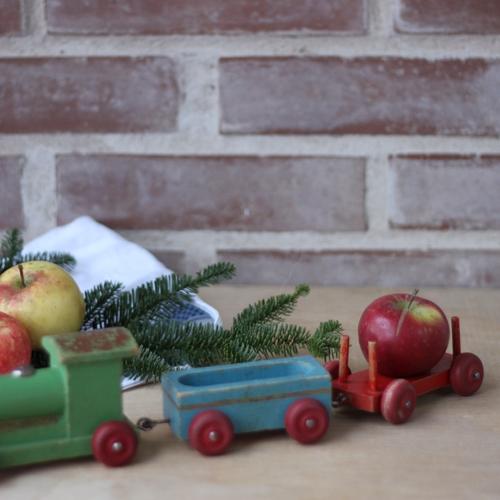Dragleksak - Tåg Grön Blå Röd