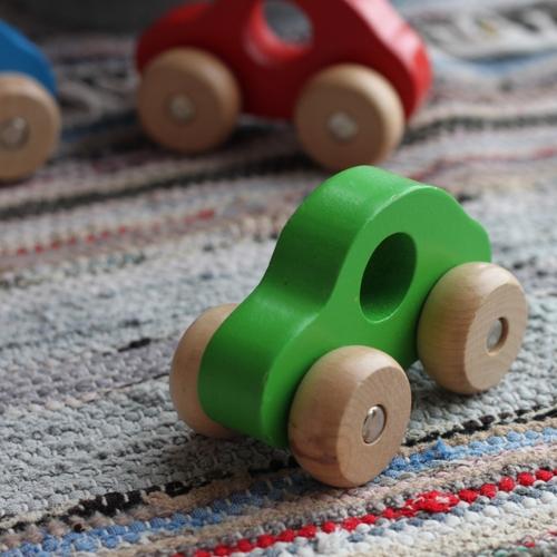 Leksak - Bil Grön