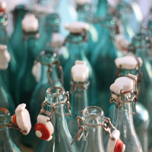 Flaska - 33cl Ljus med Patentkork