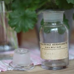 Flaska - Apoteksflaska Ofärgad med Glaspropp