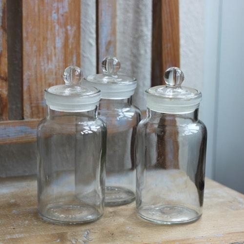 Flaska - Apoteksflaska med Glaspropp