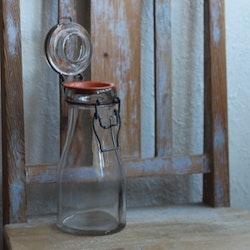 Flaska - 1/2l Mjölkflaska med Glaslock