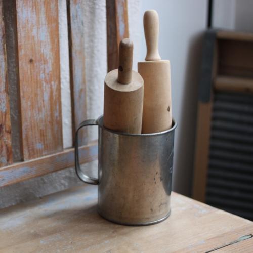 Köksredskap - 1l Mått i Bleckplåt