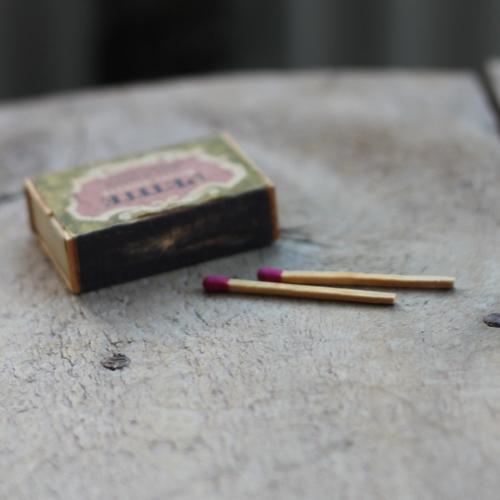 Inredning - Tändsticksask Mini