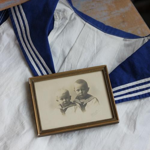 Fotografi - Två Bröder i Sjömansskjortor