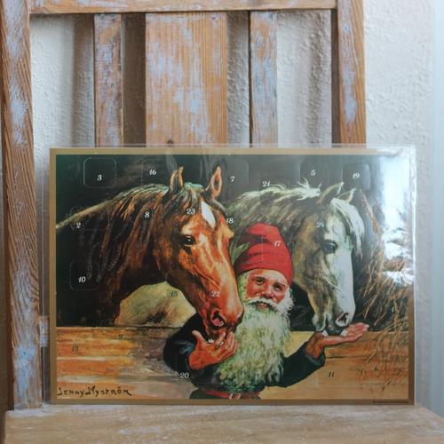 Adventskalender - Tomte och Hästar