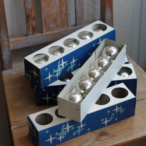 Julgranskulor - Kulor Silver