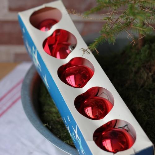 Julgranskulor - Kulor Röda