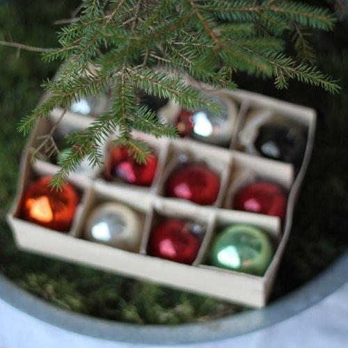 Julgranskulor - Kulor blandade färger