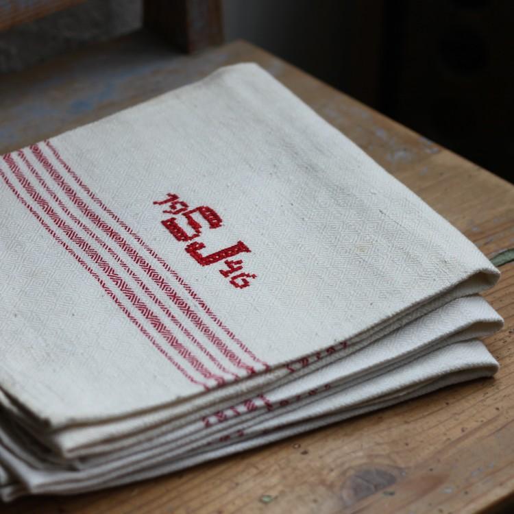 Handduk - Monogram 19 SJ 46