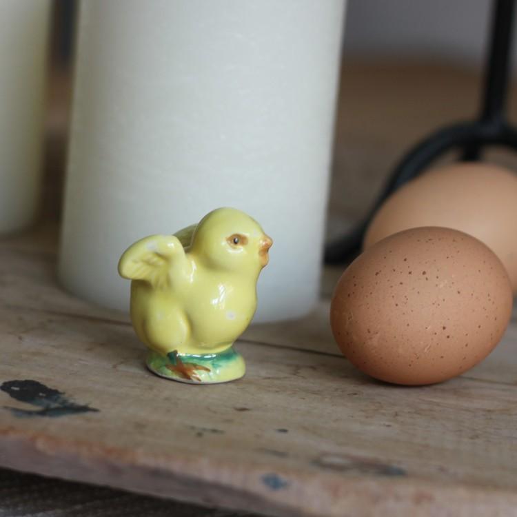 Kyckling - Porslin Liten Gul