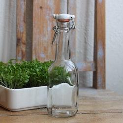Flaska - Klarglas med Patentkork