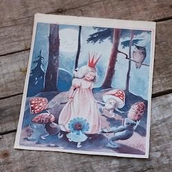 Barnkammarbild - 58 Prinsessa och ringdans