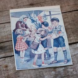 Barnkammarbild - 45 Torghandel