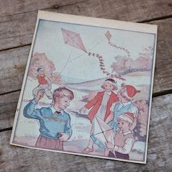 Barnkammarbild - 43 Drakflygning