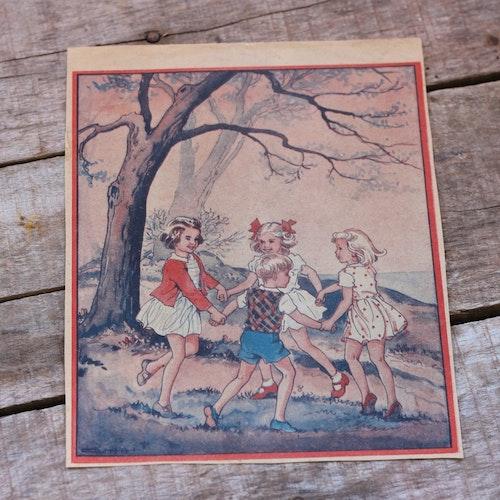 Barnkammarbild - 31 Ringdans