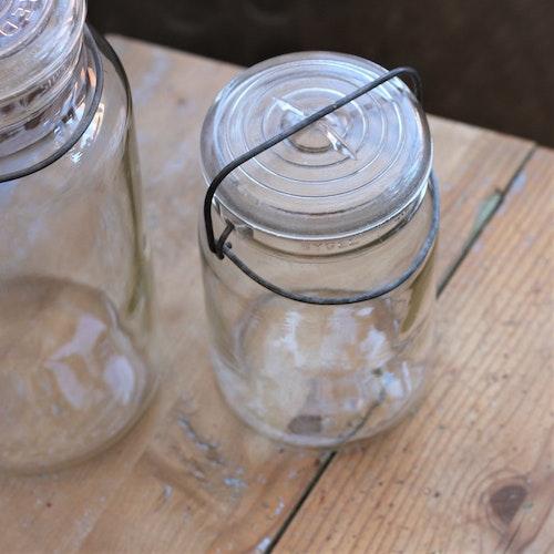 Glasburk - Förvaring Mellan