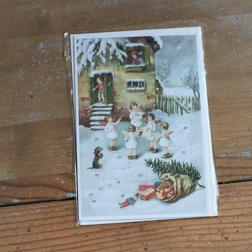 Adventskalender - Sjungande Änglar, Korv med Kuvert