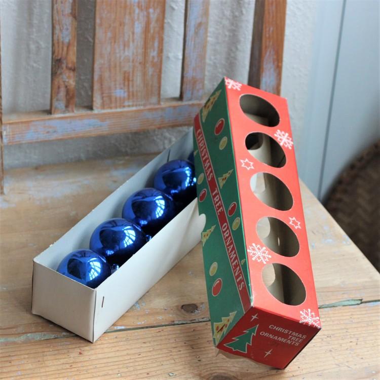 Julgranskulor - Kulor Blå