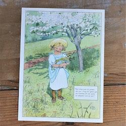 Barnkammarbild - 53 När lillan kom till jorden