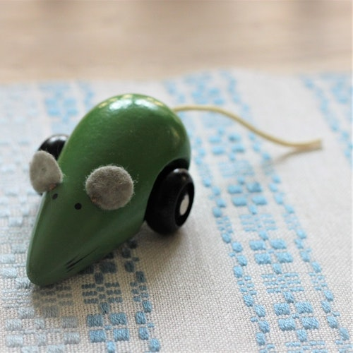 Leksak - Mus med Hjul