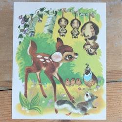 Barnkammarbild - 67 Bambi