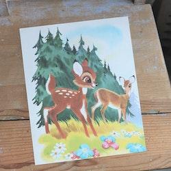 Barnkammarbild - 68 Bambi