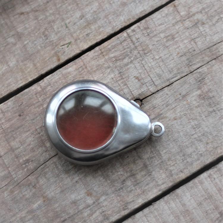 Klockfodral - Metall Droppformad