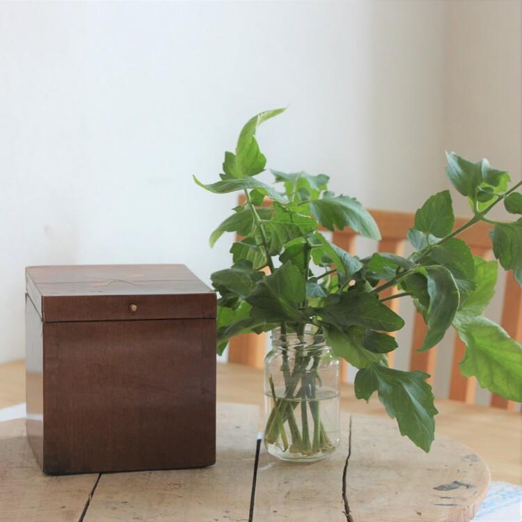 Förvaring - Trälåda med Intarsia
