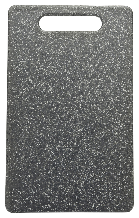 Skärbräda i plast med granit effekt