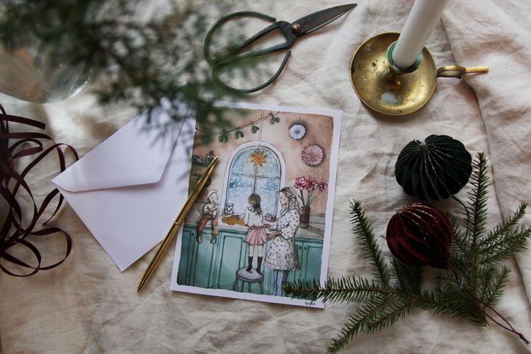 Julkort A5