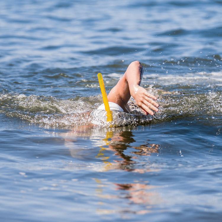 Snorkel Simning Finis Gul