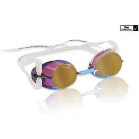 Malmsten Simglasögon monterbara metallic gold