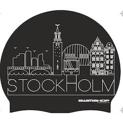 Badmössa Stockholm Silikon