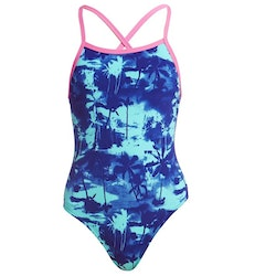 Funkita Baddräkt Junior Hawaii Skies