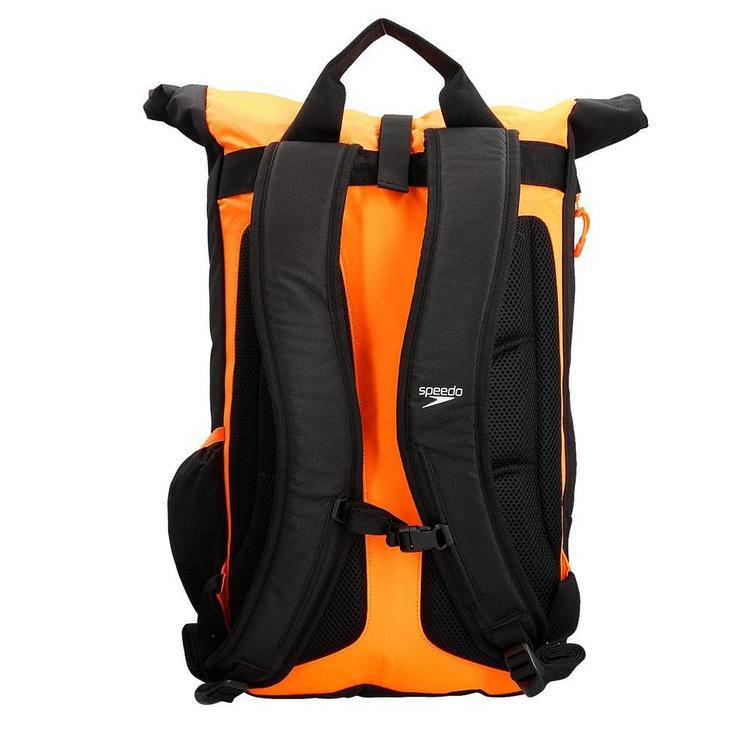 Speedo Team Rucksack III 30 liter Svart/Orange