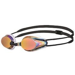 Arena Tracks simglasögon Mirror Guld-vit