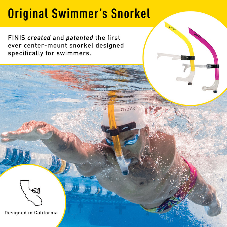 Snorkel Simning Finis Rosa