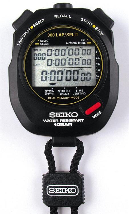 Simtränarklocka Seiko S141