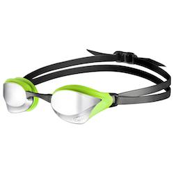 Arena Cobra Core Mirror simglasögon Svart/Grön spegellins