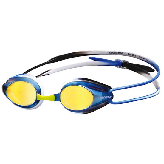 Arena Tracks simglasögon Mirror Blå/Gold