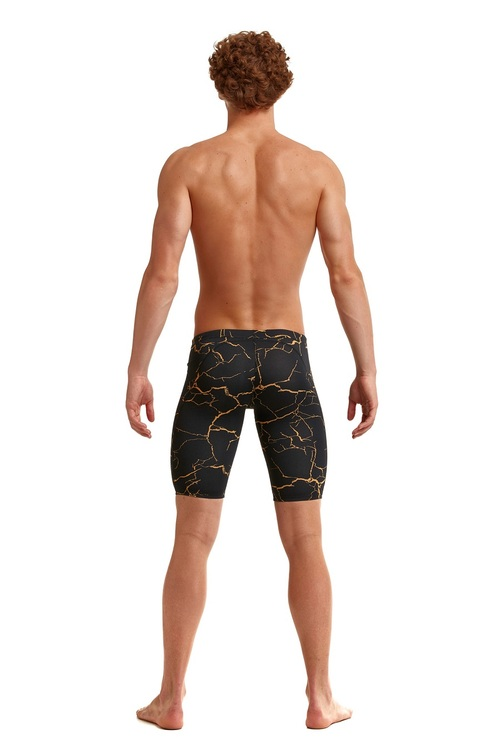 Funky Trunks Jammers Cracked Gold