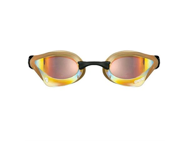 Arena Cobra Core Swipe Mirror simglasögon Guld-Koppar