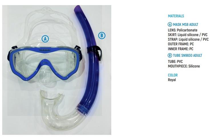 Snorkelset Vuxen - Cyklop och Snorkel