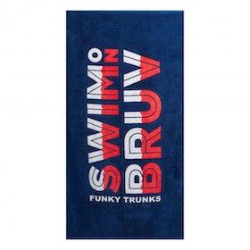Handduk Swim On Bruv Funky Trunks
