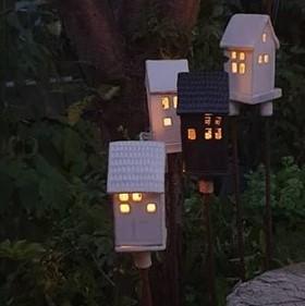 Ljushus till trädgården