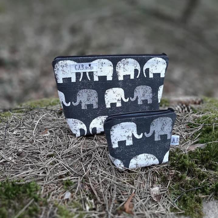 Liten necessär elefant